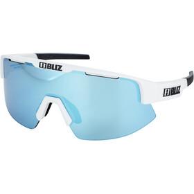 Bliz Matrix M11 Glasses for Small Faces matt white/smoke with blue multi